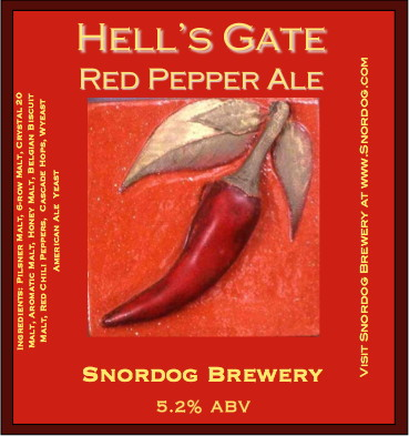 Hell's Gate Red Pepper Ale